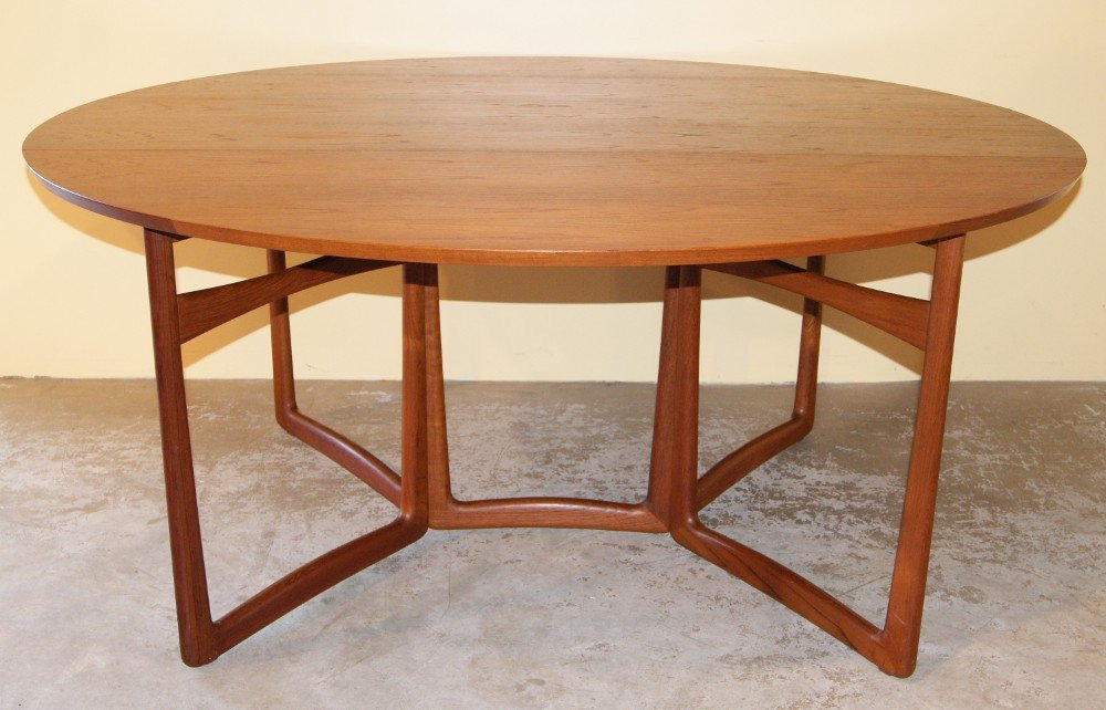peter hvidt drop leaf dining table